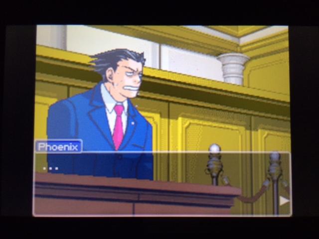 逆転裁判 北米版 マネラ証言 休憩について42