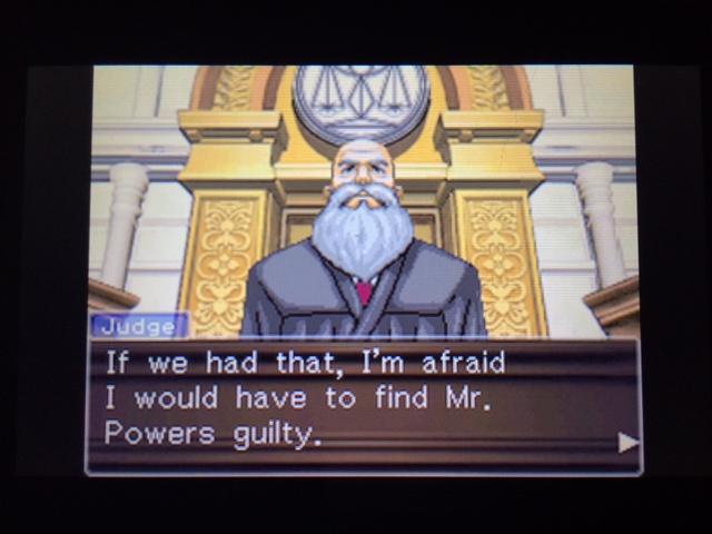 逆転裁判 北米版 マネラ証言後6