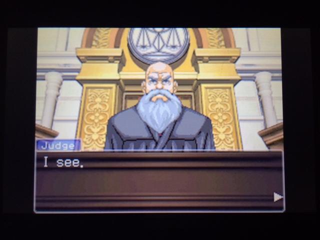 逆転裁判 北米版 マネラ証言後11