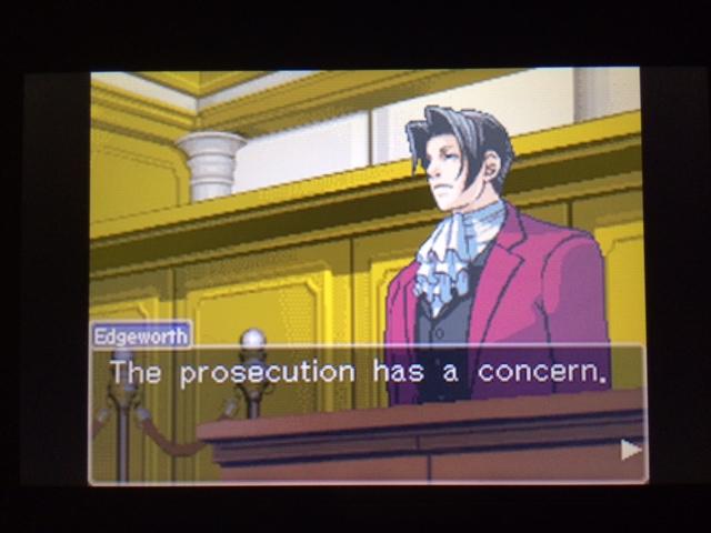 逆転裁判 北米版 コーディー入廷3