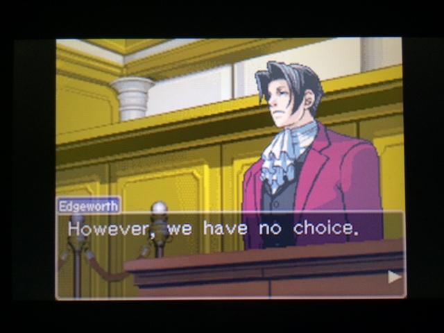 逆転裁判 北米版 コーディー入廷6