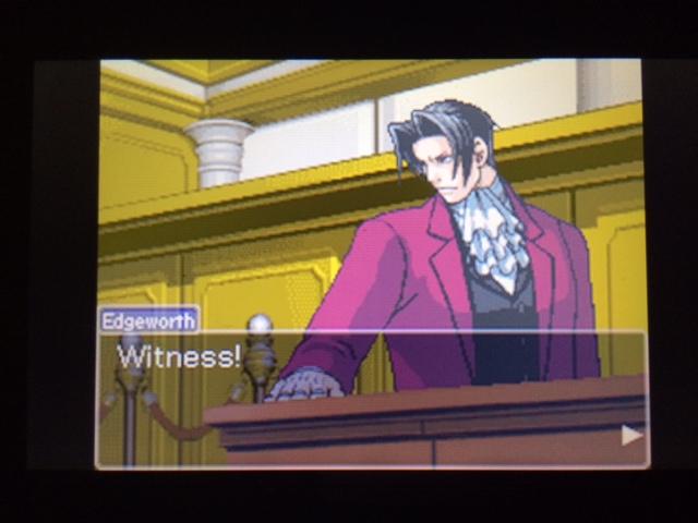 逆転裁判 北米版 コーディー入廷13