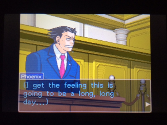 逆転裁判 北米版 コーディー入廷18