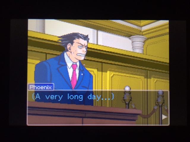 逆転裁判 北米版 コーディー入廷29