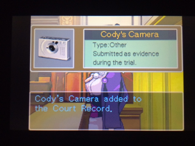 逆転裁判 北米版 コーディー入廷39