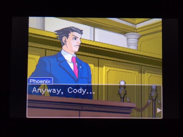 逆転裁判 北米版 コーディーの証言26