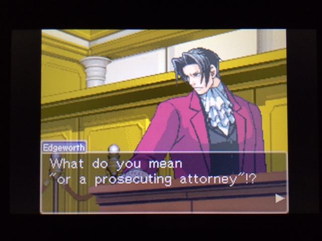 逆転裁判 北米版 コーディーの証言33
