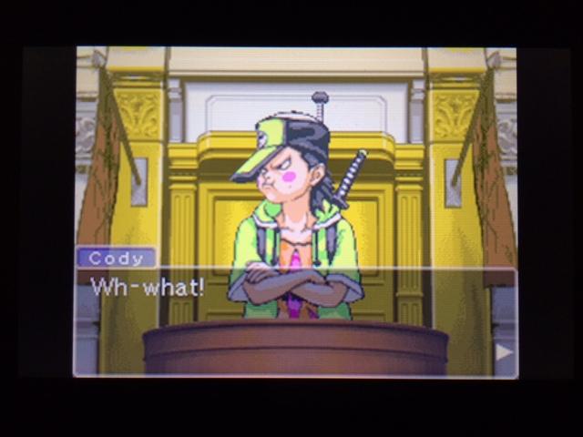 逆転裁判 北米版 コーディーの証言35