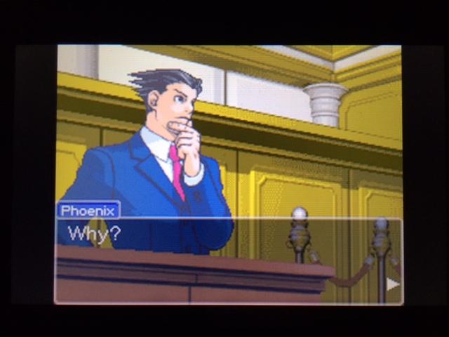逆転裁判 北米版 コーディー証言 何を見たのか10