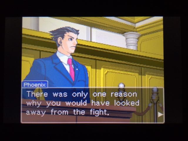 逆転裁判 北米版 コーディーが見ていなかった理由26
