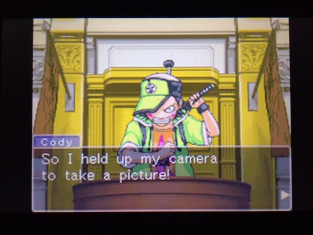 逆転裁判 北米版 写真は撮らなかったのか?3
