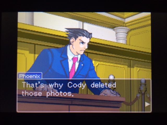 逆転裁判 北米版 写真を撮らなかった理由23
