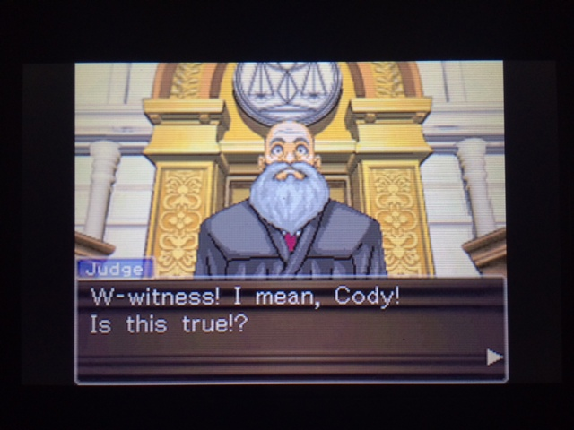 逆転裁判 北米版 スティール・サムライの真実1