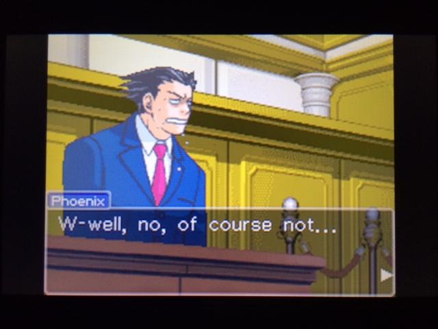 逆転裁判 北米版 フェニックスの主張9