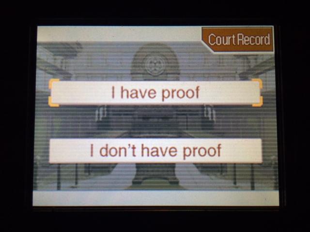 逆転裁判 北米版 フェニックスの主張13