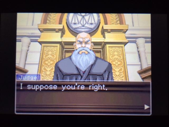 逆転裁判 北米版 フェニックスの主張33