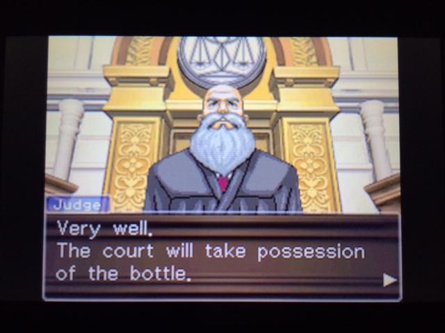 逆転裁判 北米版 フェニックスの主張34