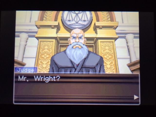 逆転裁判 北米版 ウィル審理二日目終了5