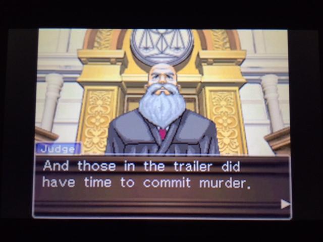 逆転裁判 北米版 ウィル審理二日目終了11