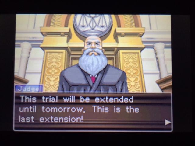 逆転裁判 北米版 ウィル審理二日目終了18