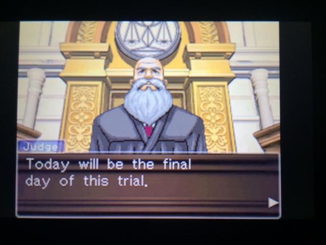 逆転裁判 北米版 ウィル・パワーズ審理最終日オープニング5