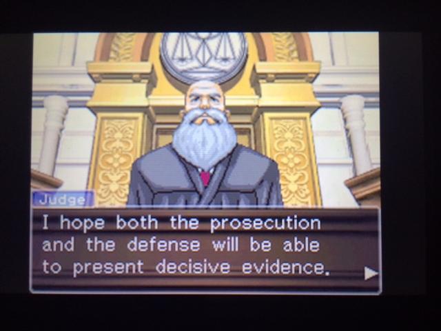 逆転裁判 北米版 ウィル・パワーズ審理最終日オープニング6