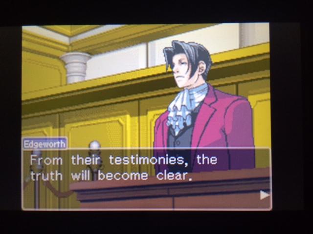 逆転裁判 北米版 ウィル・パワーズ審理最終日オープニング11