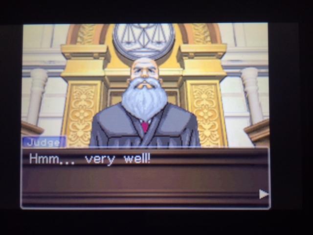 逆転裁判 北米版 ウィル・パワーズ審理最終日オープニング12