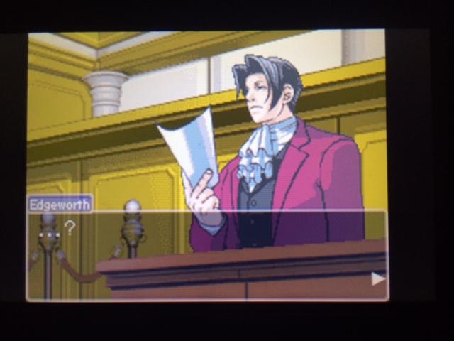 逆転裁判 北米版 ウィル・パワーズ審理最終日オープニング22