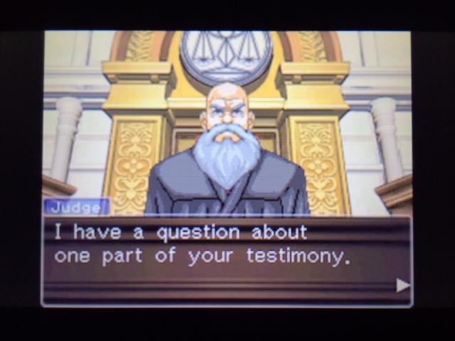 逆転裁判 北米版 ヴァスケズ最初の証言11