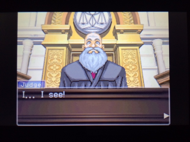 逆転裁判 北米版 ヴァスケズ最初の証言18