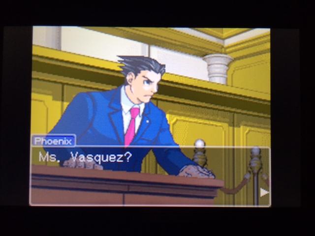 逆転裁判 北米版 ヴァスケズ最初の証言38