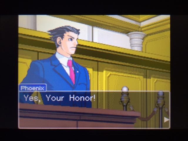 逆転裁判 北米版 フェニックスの主張2