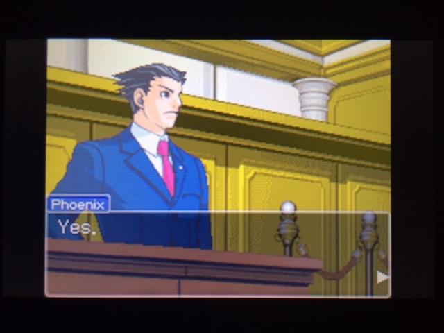 逆転裁判 北米版 フェニックスの主張11