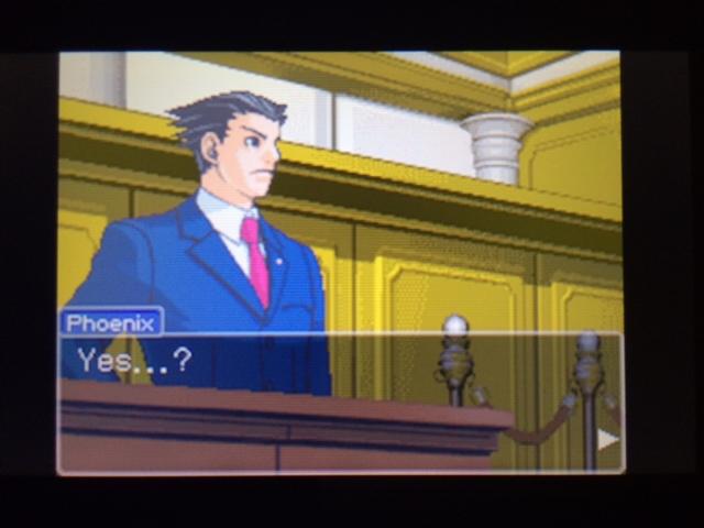 逆転裁判 北米版 フェニックスの主張20