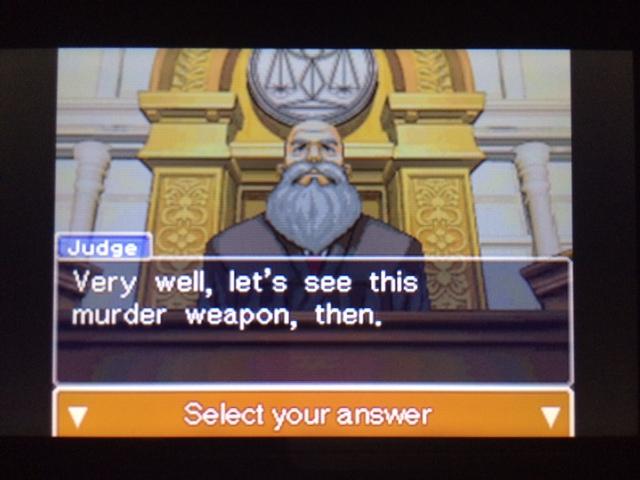 逆転裁判 北米版 本当の凶器24
