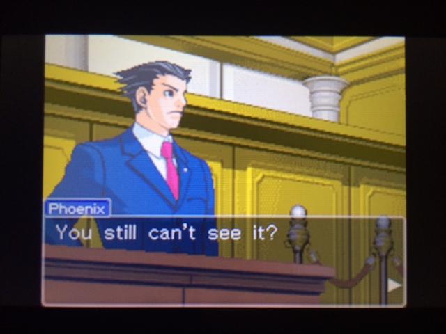 逆転裁判 北米版 本当の凶器36
