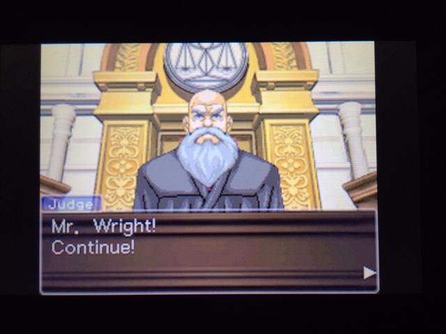 逆転裁判 北米版 休憩の真実1