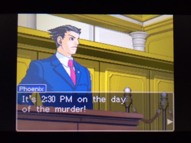逆転裁判 北米版 休憩の真実2