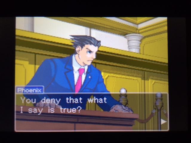 逆転裁判 北米版 休憩の真実15