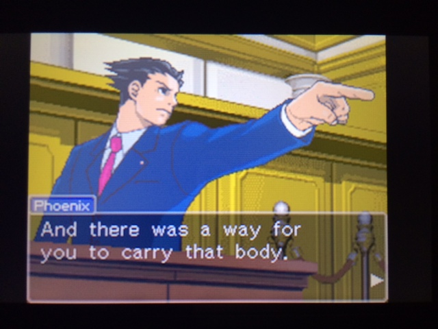 逆転裁判 北米版 遺体の運搬問題6