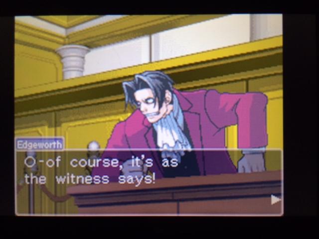 逆転裁判 北米版 ヴァスケズの証言終了?3