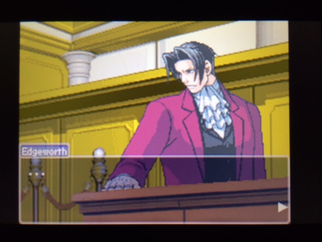 逆転裁判 北米版 エッジワースの異議4