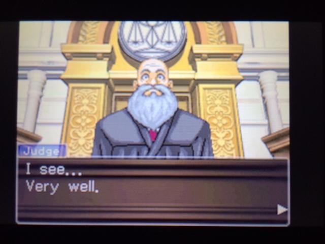 逆転裁判 北米版 エッジワースの異議8