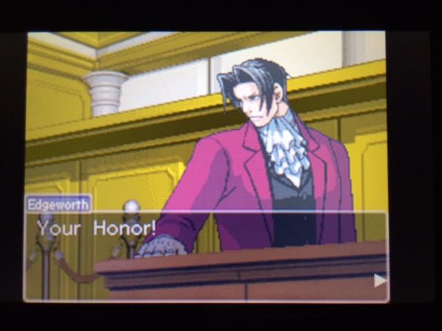 逆転裁判 北米版 エッジワースの異議9