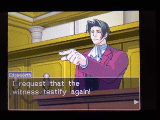 逆転裁判 北米版 エッジワースの異議10