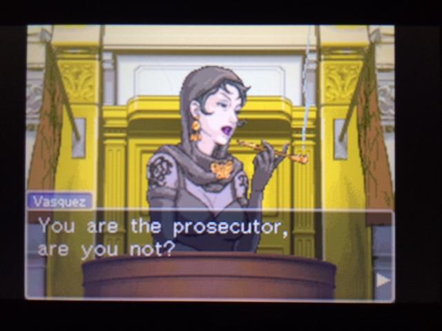 逆転裁判 北米版 エッジワースの異議11