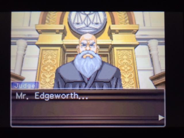 逆転裁判 北米版 エッジワースの異議16