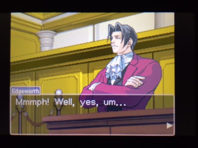 逆転裁判 北米版 エッジワースの異議19