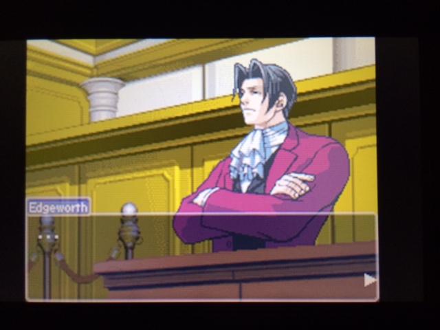 逆転裁判 北米版 エッジワースの異議20